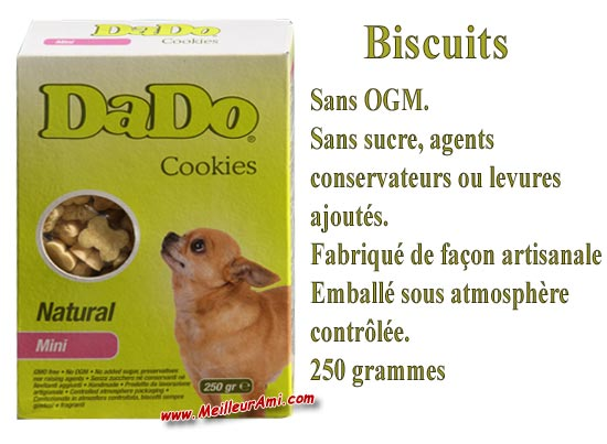 Biscuits DADO Cookies Natural Mini 250g