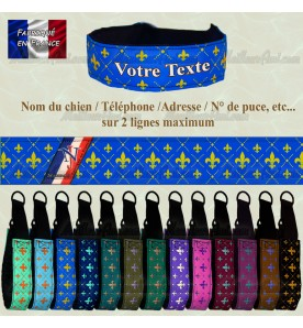 Collier Royal Personnalisable 13 couleurs