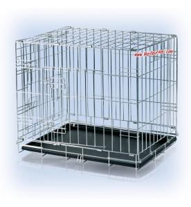 Cage de transport ou d'exposition taille moyenne