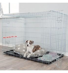 Cage de transport ou d'exposition pliable