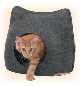 Abri en forme de chat