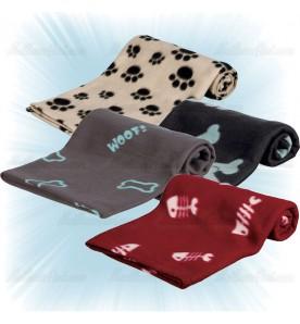 Couverture pour chien coloris différents