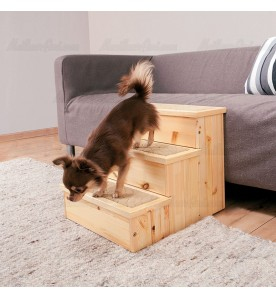 Escalier en bois pour chien
