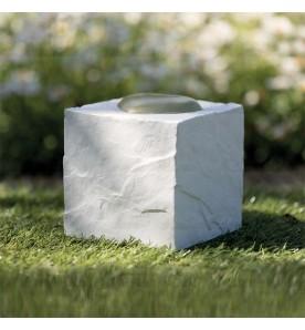 Pierre commémorative pour animaux cube