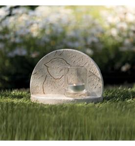 Pierre commémorative pour chat