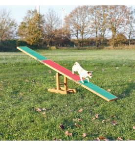 Bascule en bois agility