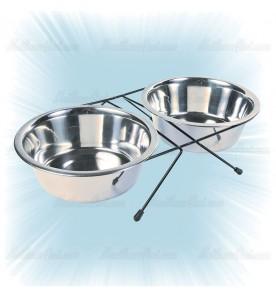 Set gamelles chien