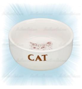 Gamelle en céramique pour chat